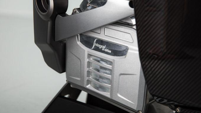 Il motore della Triumph TE-1 Project