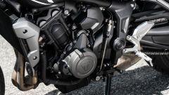 Il motore della Triumph Trident 660