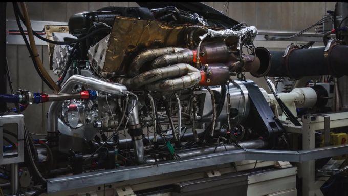 Il motore della Valkyrie