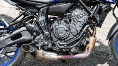 Il motore della Yamaha MT-07 2021