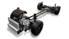 Il motore e la trasmissione della Toyota GR Yaris