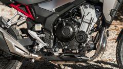 Il motore Euro5 della Honda CB500X 2021