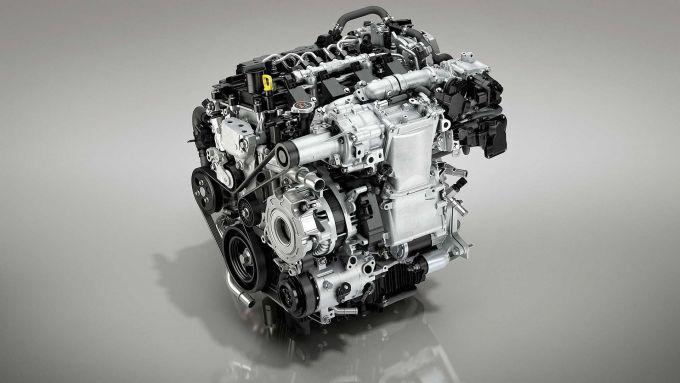 Il motore Mazda Skyactiv-X