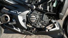 Il motore monocilindrico della Zontes 310V