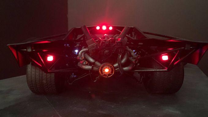 Il motore posteriore della futura Batmobile