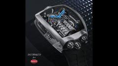 Il motore W16 del Bugatti Chiron Tourbillon