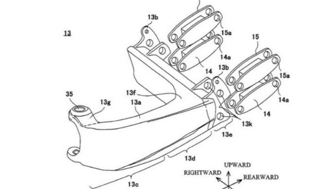 Il mozzo anteriore sterzante brevettato da Kawasaki