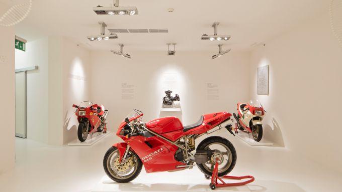 Il Museo Ducati anche online: dal 22 dicembre arriva la mostra ''Anatomia della Velocità''