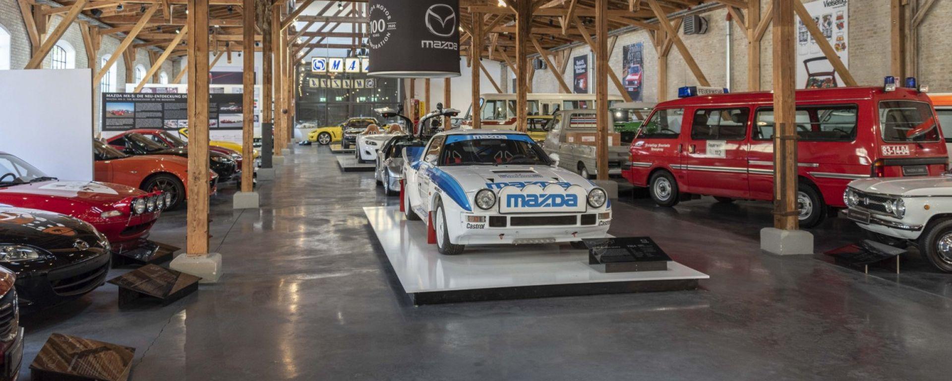 Il museo Mazda di Augusta di proprietà della famiglia Frey