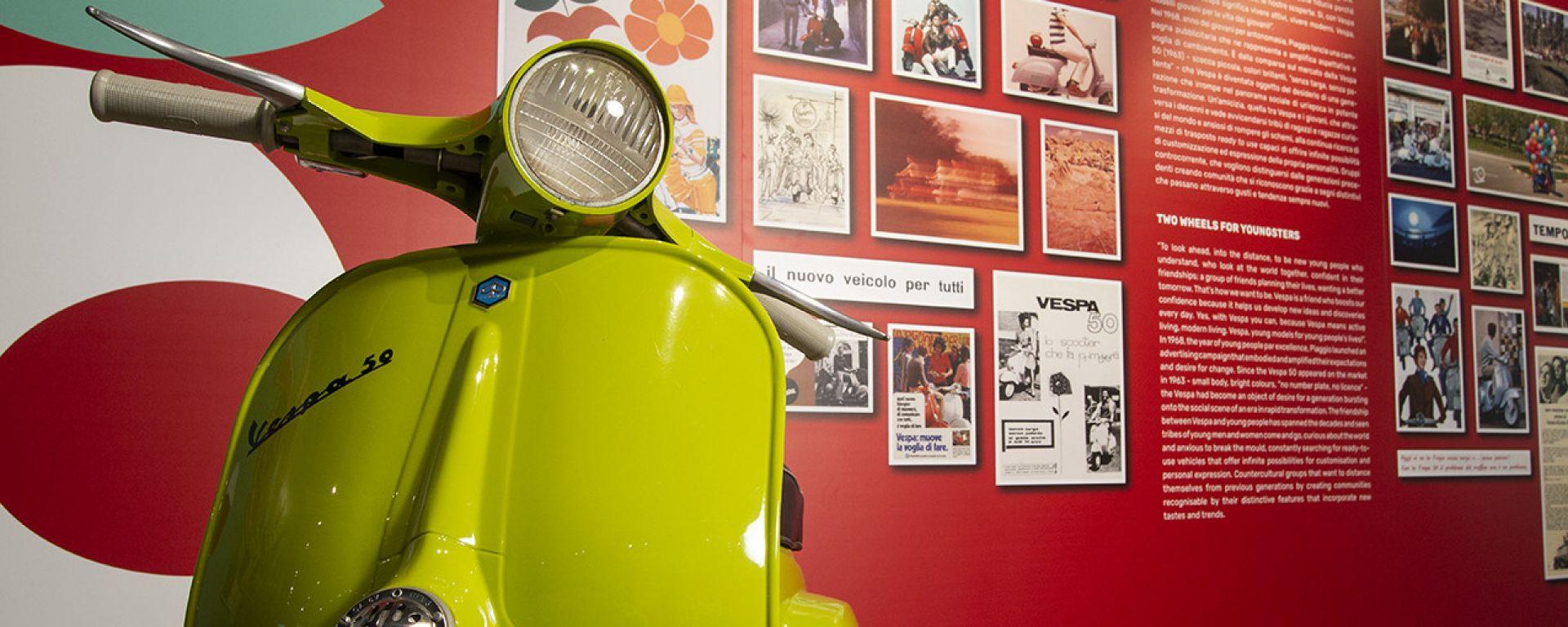 Il Museo Piaggio ospita la mostra per i 75 anni di Vespa