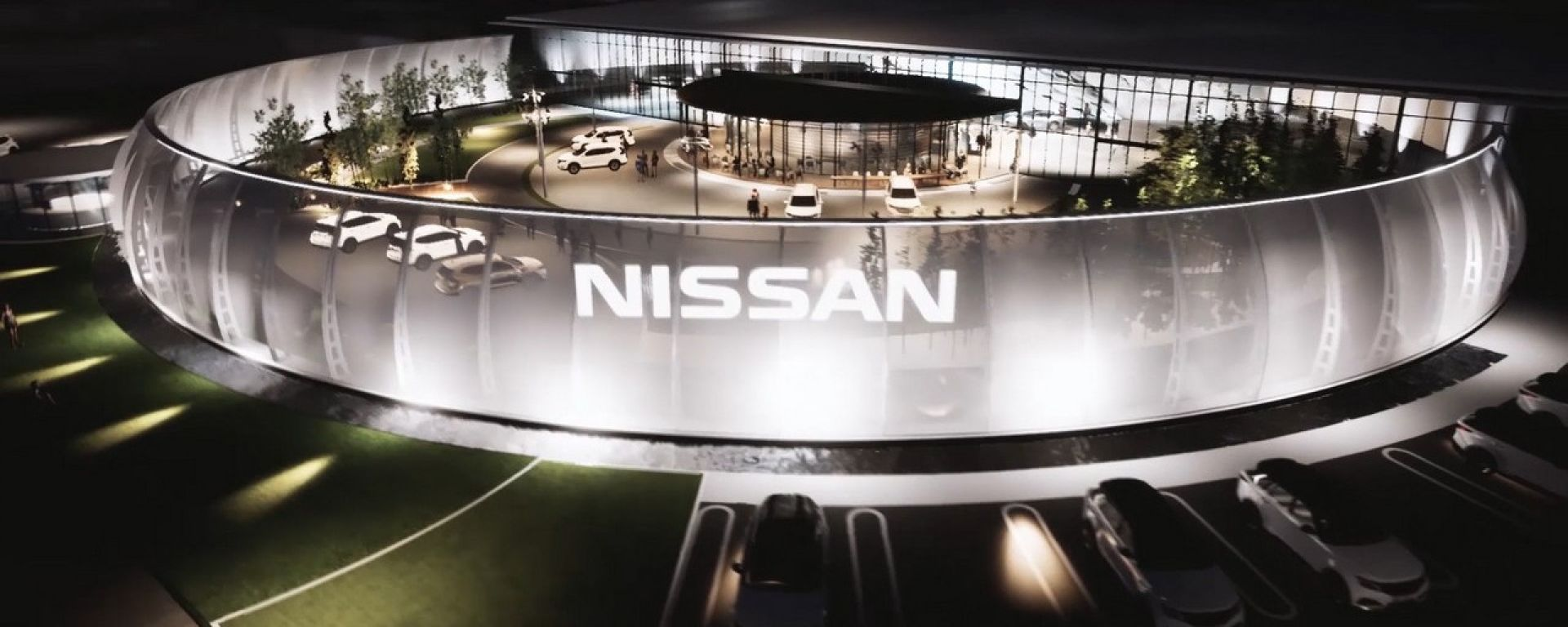 Il Nissan Pavillion di Yokohama
