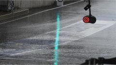 Il nubifragio che si è scatenato oggi, durante le FP2, sul circuito Red Bull Ring