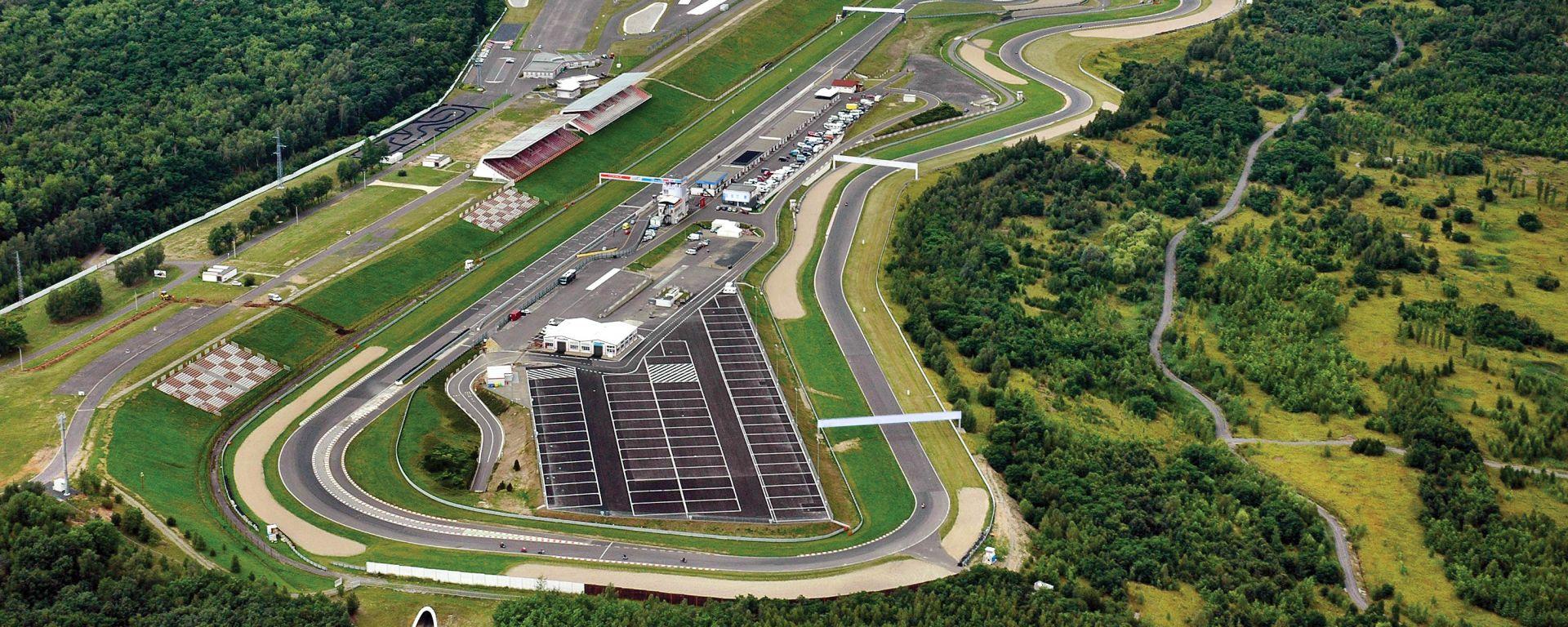 Il nuovo Autodrom Most, in Repubblica Ceca
