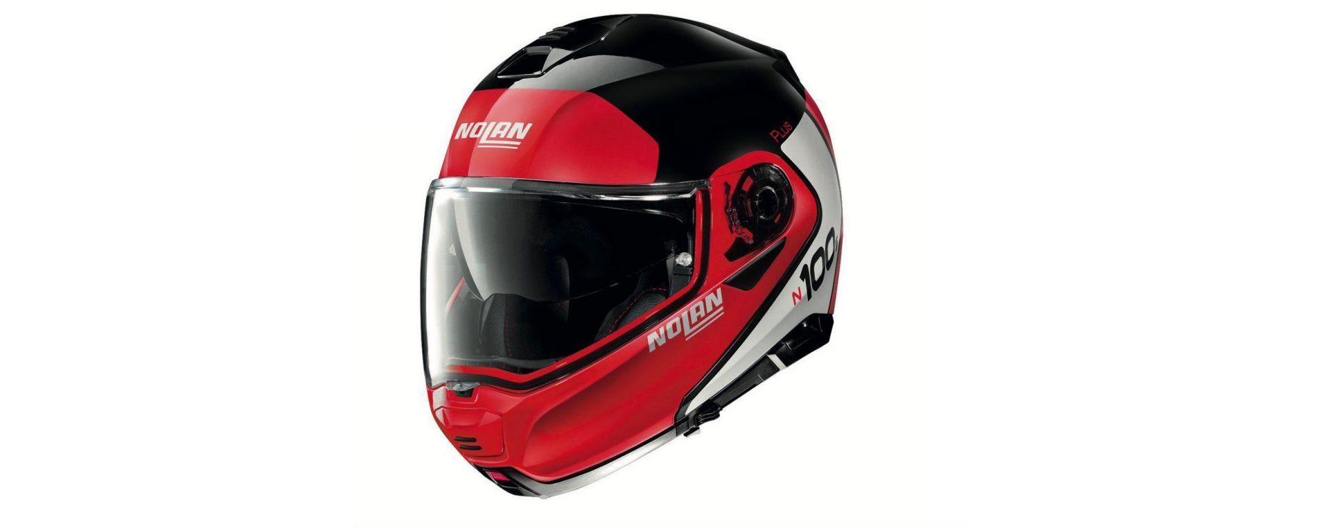 Il nuovo casco Nolan N 100-5 PLUS
