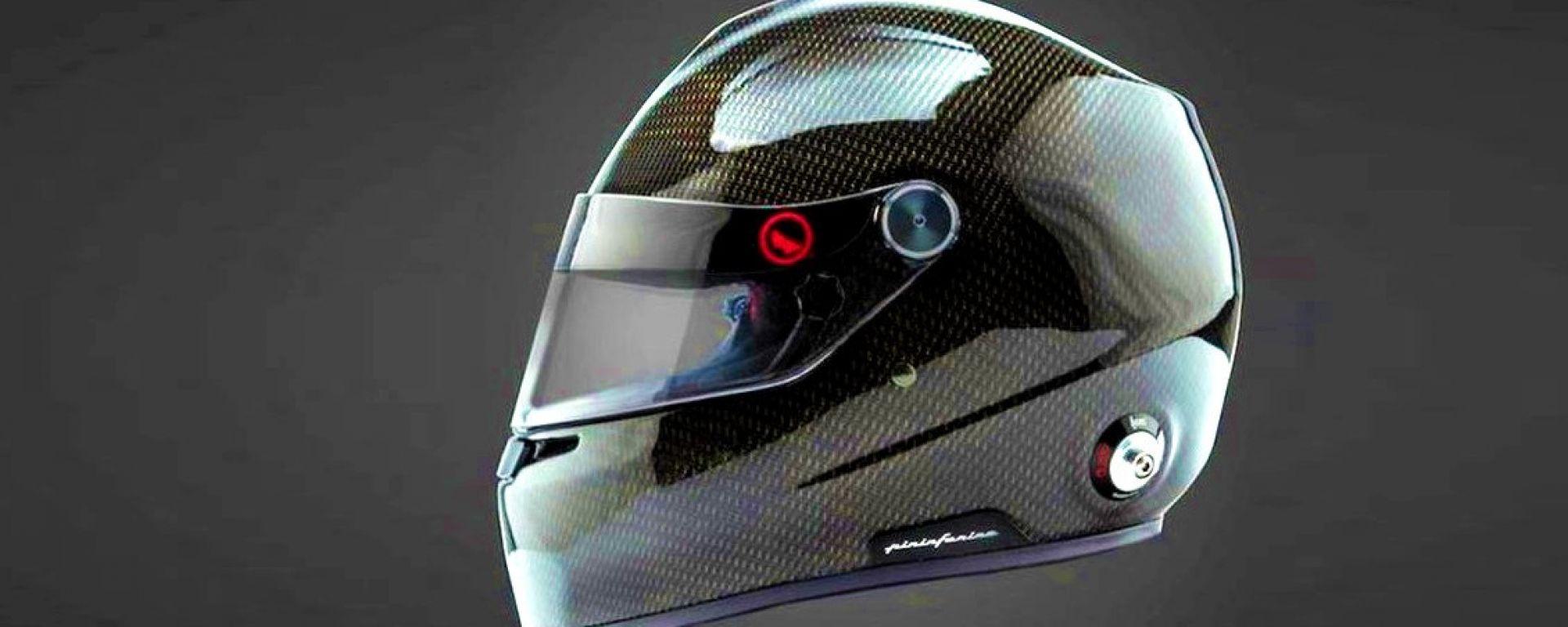 Il nuovo casco racing Roux - Pininfarina climatizzato