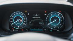 Il nuovo cruscotto digitale della Hyundai i20 1.0 T-GDi mild hybrid