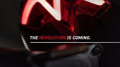 Il nuovo faro posteriore della Speed Triple RS 2021