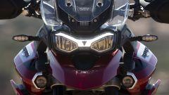 Il nuovo frontale della Triumph Tiger