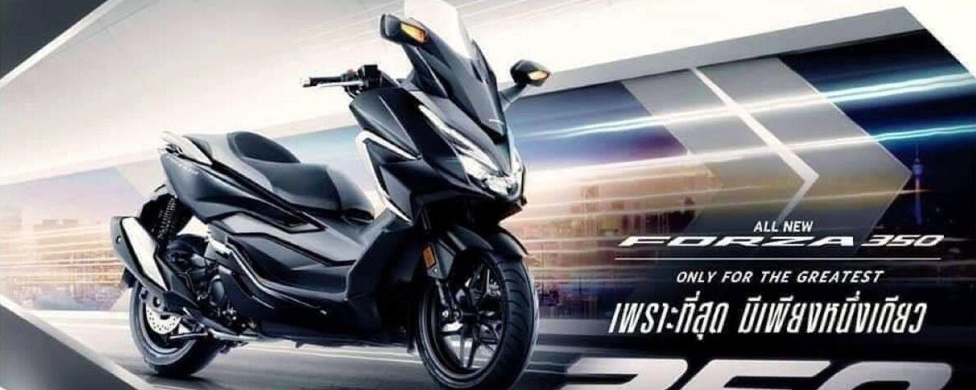 Il nuovo Honda Forza 350