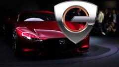 Mazda: un logo anticipa il debutto del Wankel elettrificato?