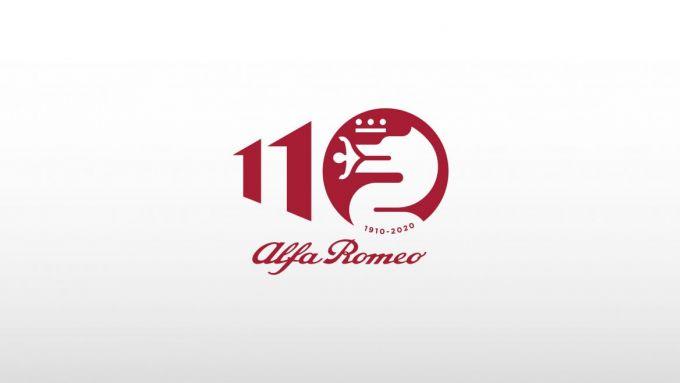 Il nuovo logo ufficiale per i 110 anni di Alfa Romeo