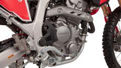 Il nuovo motore Euro5 presente sulle Honda CRF300 L e CRF300 Rally 2021