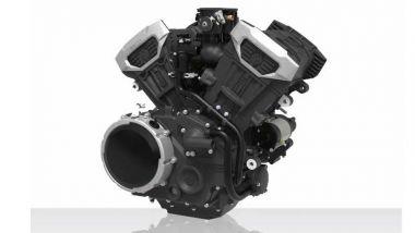 Il nuovo motore V4 da 496 cc di Benda Motorcycles