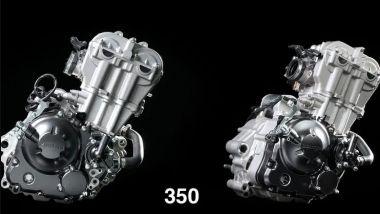 Il nuovo motore Zontes 350 che sostituirà quello 310, da 312 cc