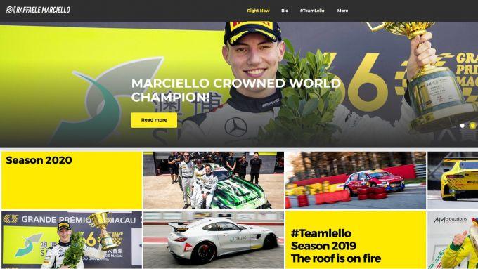 Il nuovo sito web 2020 di Raffaele Marciello