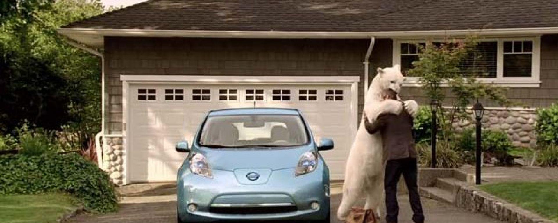 Il nuovo spot della Nissan Leaf