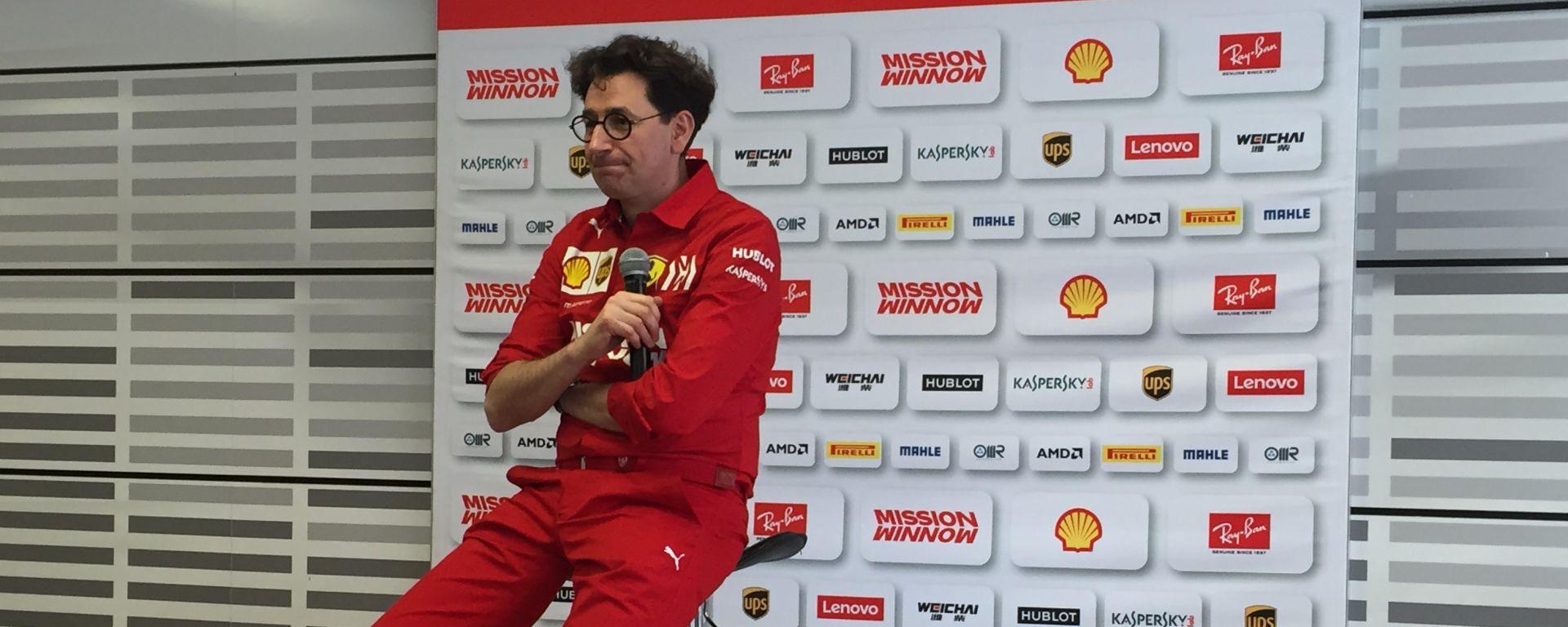 Il nuovo team principal della Ferrari, Mattia Binotto