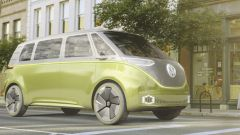 Il nuovo Volkswagen I.D. Buzz presentato al salone di Detroit