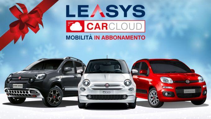 Il pacchetto City di CarCloud prevede Fiat 500 e Panda, anche in versione Cross