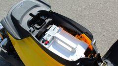 Il pacco batterie nel Booster elettrico è nel vano sottosella