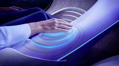 Il pannello di controllo della Mercedes-Benz Vision AVTR