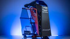 Il PC DIY realizzato da Robeytech ispirandosi alla McLaren Senna