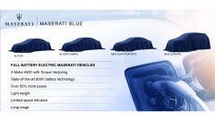 Il piano industriale di FCA prevede la creazione di Maserati Blue, divisione che si occuperà di auto elettriche e ibride