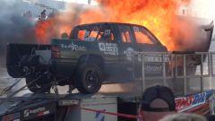 Il pick-up di Power Driven Diesel esplode nella prova al banco