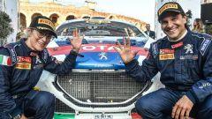 Il pilota Andreucci e la copilota Andreussi