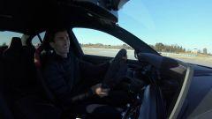 Il pilota Connor DePhilippi al volante della BMW M5 CS 2021