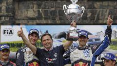Il podio del Rally di Germania 2016