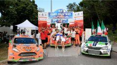 Il podio del Rally di San Marino 2016