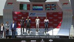 Il podio della Sprint Race