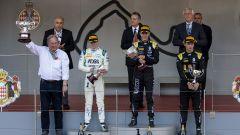 Il podio di Monaco della Sprint Race