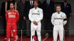 Il podio di Monaco