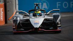 Il poleman del Sanya ePrix, Oliver Rowland su Nissan e.Dams