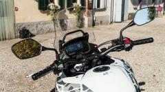 Il ponte di comando della Honda CB500X 2021