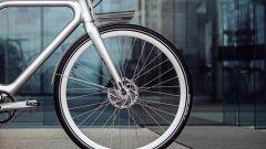 Il portapacchi anteriore della Angell Bike