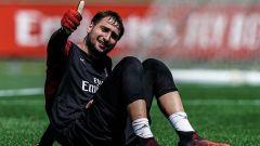 Il portiere del Milan e della Nazionale di calcio, Gianluigi Donnarumma