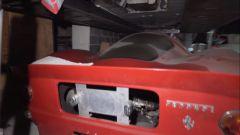 Il posteriore della Ferrari P330 Noble